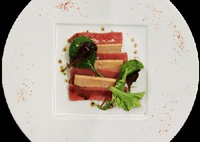 Marbré de thon et foie gras - Restaurant Avenio