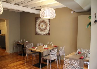 Salle du restaurant Avenio